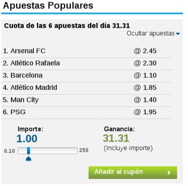 Apuestas barcelona manchester city betting convert decimal betting odds