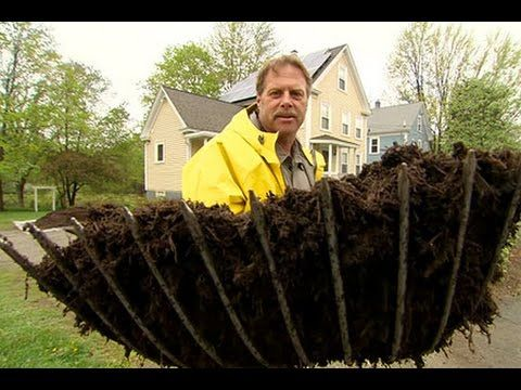 How To Calculate Cubic Yards This Old House Landscape Contractor Roger Cook Relocates A Matu Mulch Landscaping Ideas Diy Landscape Design Landscape Contractor