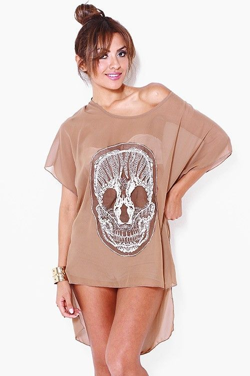 Mocha Skull Shirt 1x, 2x, 3x. $39.00. Blondellamy'Dean is a boutique just for Curvy Girls. Sizes 10- 28. Specialty sizes up to a size 36. Use coupon code: pin10 for 10% off your first purchase on www.blondellamydean.com or like us on www.facebook.com/blondellamydean