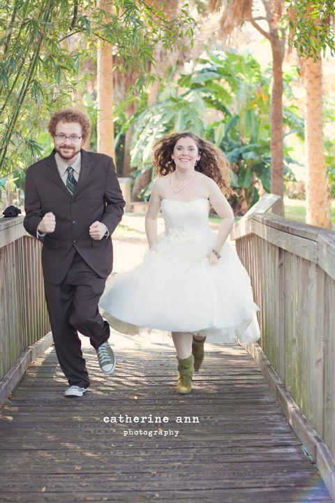 USF Botanical Gardens Wedding