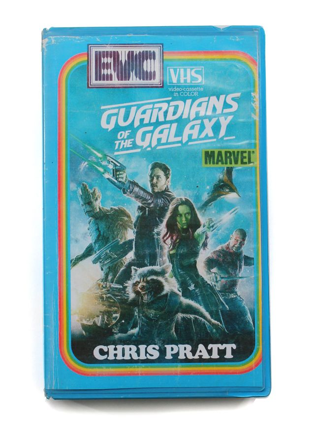 Guardians Of The Galaxy Fake Vhs Cover Vhs Guardians Of The Galaxy New Movies