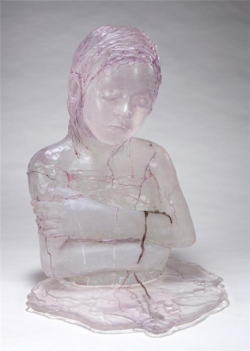 Sibylle Peretti - glass sculpture