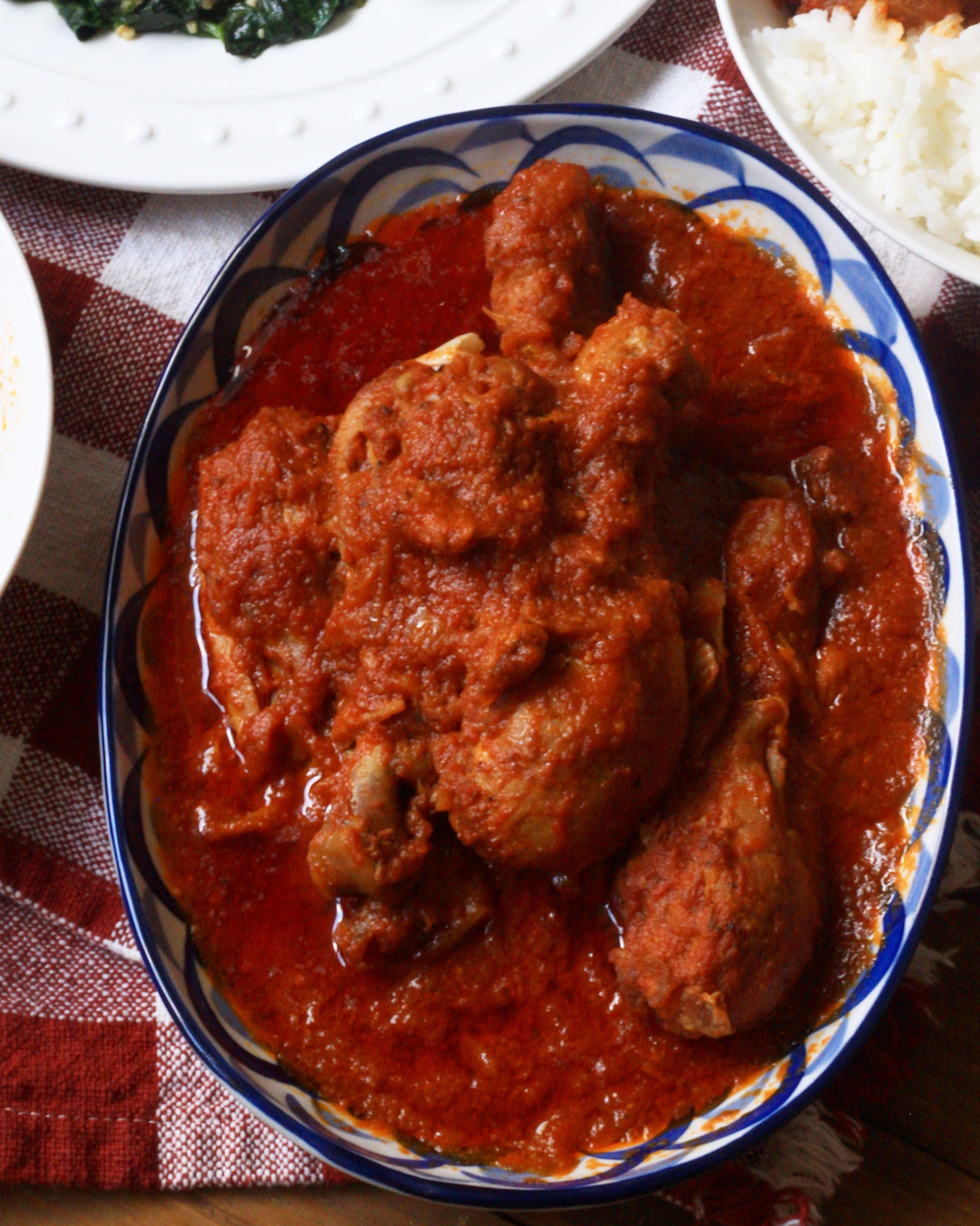 Nigerian Chicken Stew Red Tomato Stew Ev S Eats Chicken Stew African Food Nigerian Recipes