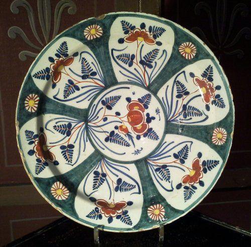 Plat de Delft XVIIe siècle