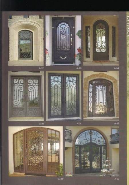 Fotos de herreria en general puertas ventanas protecciones - Disenos puertas de madera exterior ...