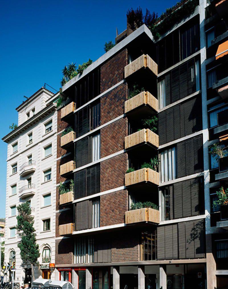 Ricardo Bofill Taller de Arquitectura · Bach 28 apartments