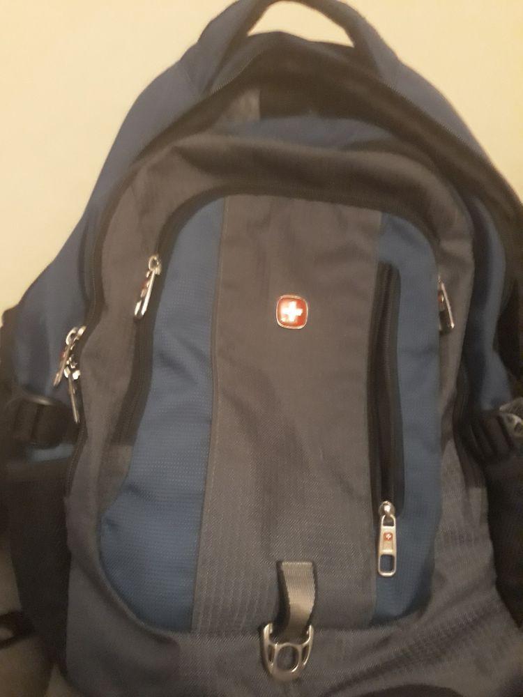 """SWISS GEAR Men Women Waterproof Travel Business 15.6/"""" Laptop Backpack School Bag"""