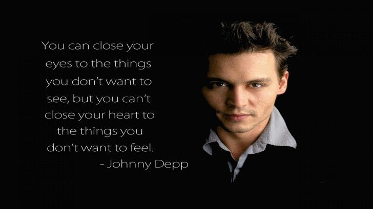 Quotes HD Wallpapers : Johnny Depp Quotes Black HD