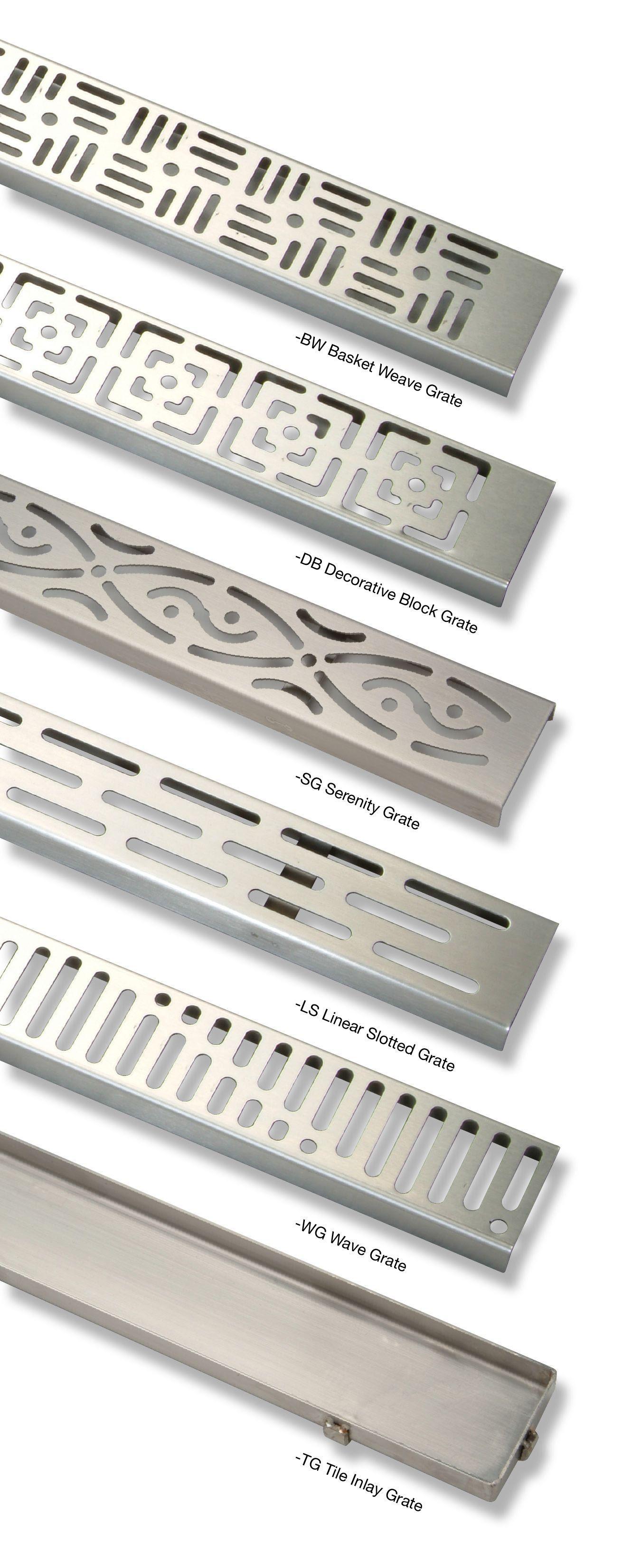Zurn Zs880 Stainless Steel Linear Shower Drains