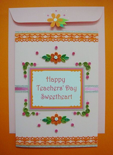2018 Teacher Day Card Handmade And Beautiful Cards For Our