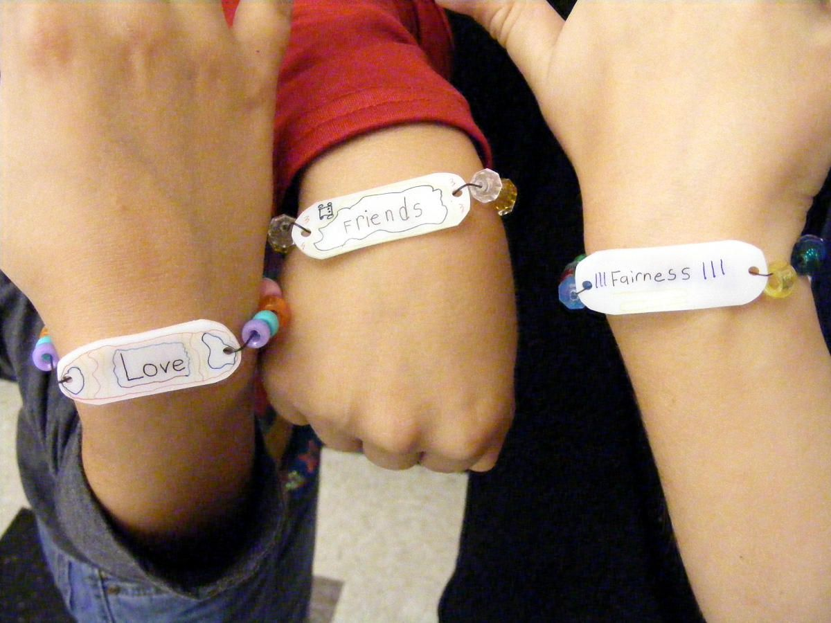 awareness bracelet stop bullying bracelets customizable reminderband school