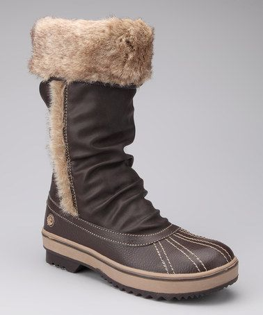 Take a look at this Brown Jackie Boot – Women by Northside on #zulily today!