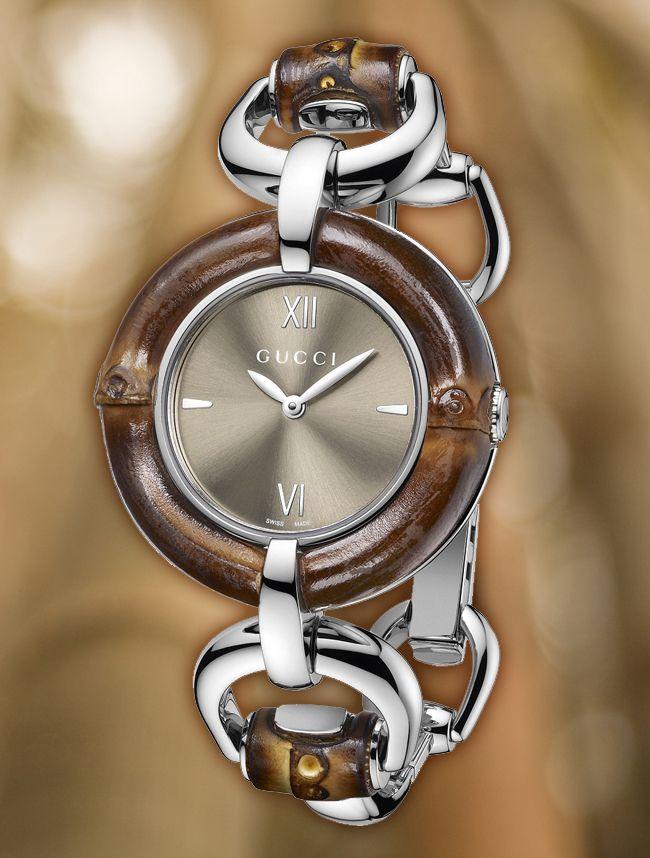 001d6044f7d Gucci-Bamboo-WP Relógio Feminino