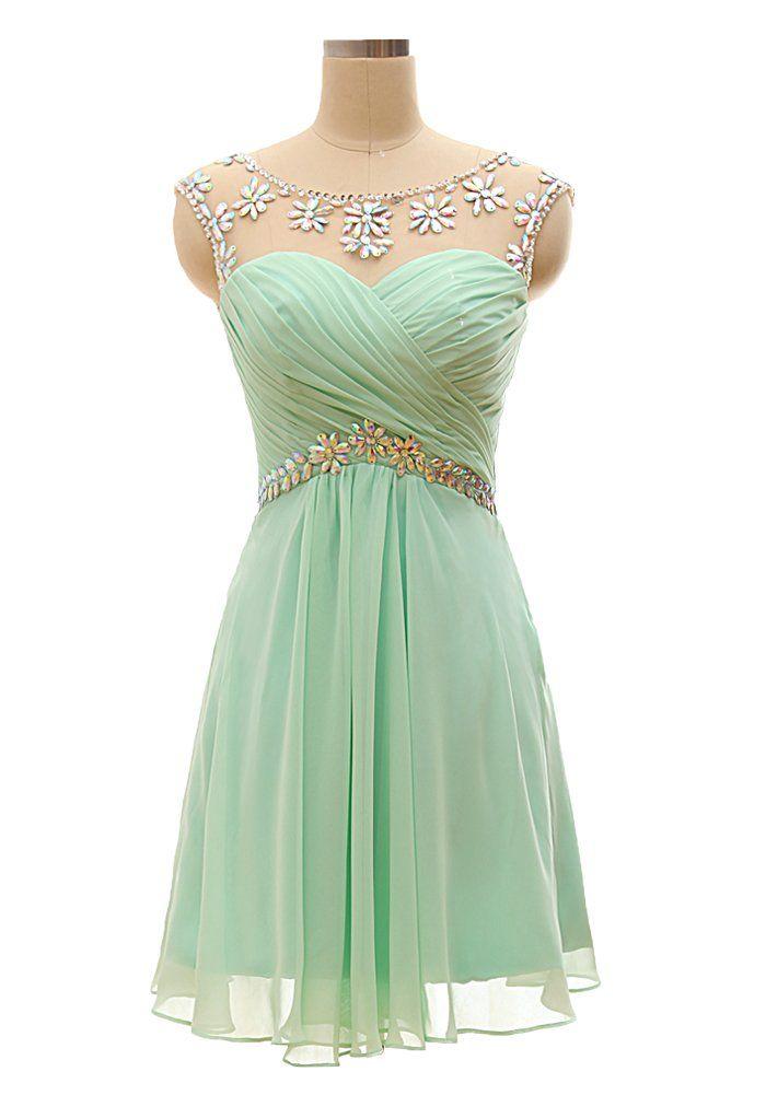 dd53d22e3 Amazon.com: Vnaix Bridals Short Prom Dresses for Juniors Birthday Dress  Sexy Cocktail Dresses: Clothing