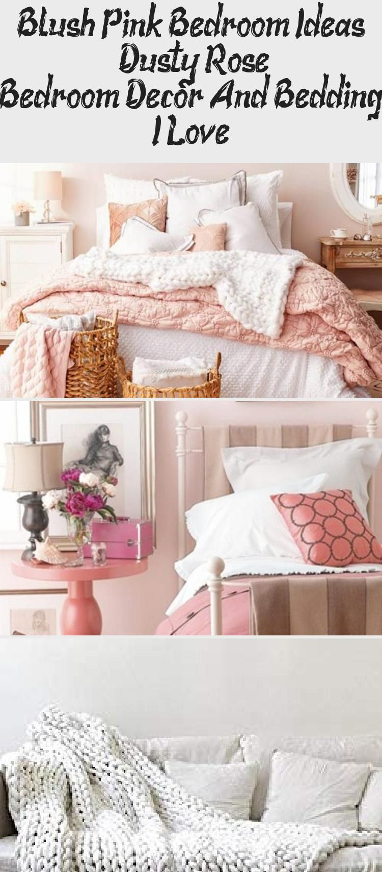 Redecorating My Bedroom In Dusty Rose Pink Colors • These dusty ...