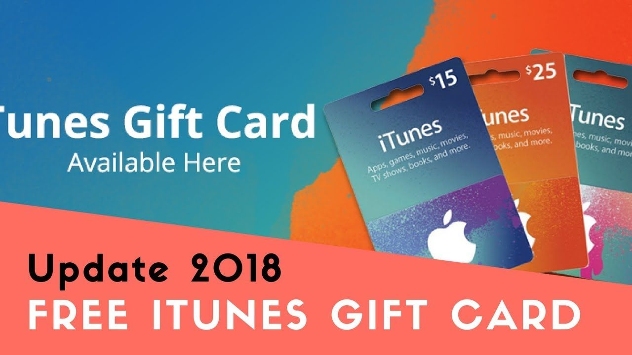 How to get free itunes gift card balance 2018 free