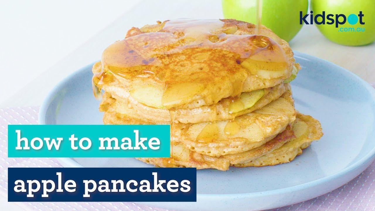 Apple pancakes   Easy kids recipes   Kidspot
