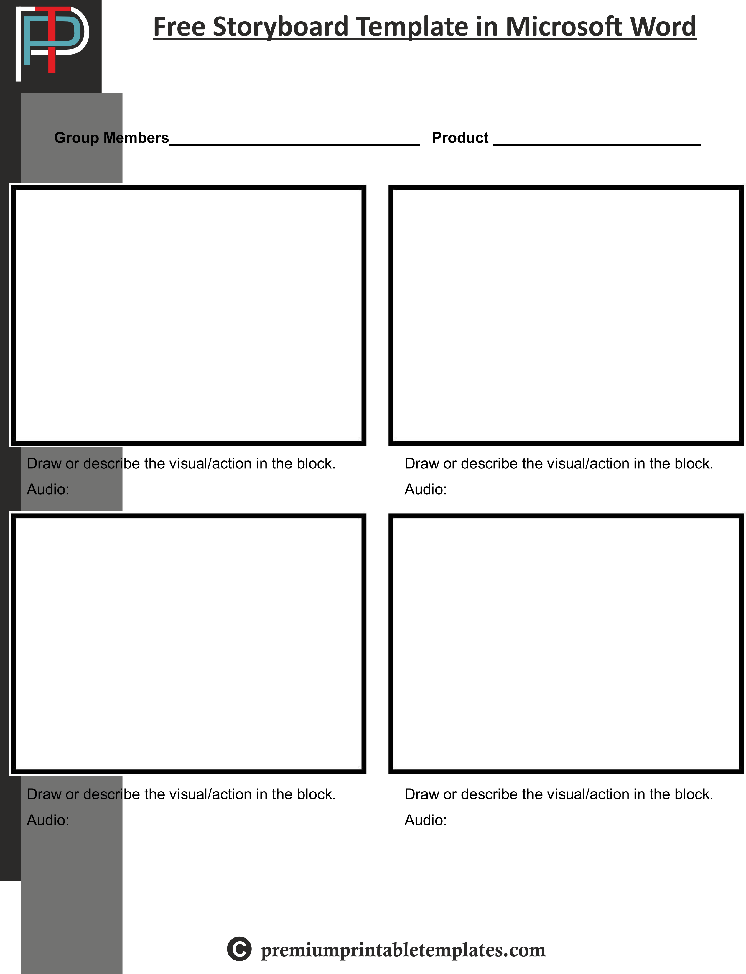 Storyboard Template Microsoft Word from i.pinimg.com
