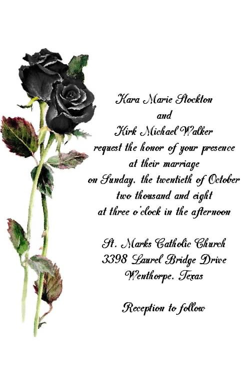 Halloween Wedding Invitations | Dream Wedding | Pinterest ...