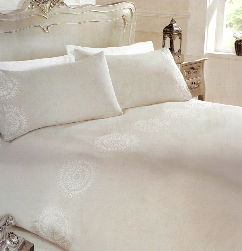 embroidered kaleidoscope embellished modern bedding set for double  - details about embroidered kaleidoscope embellished modern bedding set fordouble bed mid grey