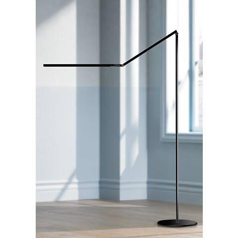 Gen 3 Z Bar Warm Light Touch Dimmer Led Floor Lamp In Black V6935 Lamps Plus Led Floor Lamp Cool Floor Lamps Lamp