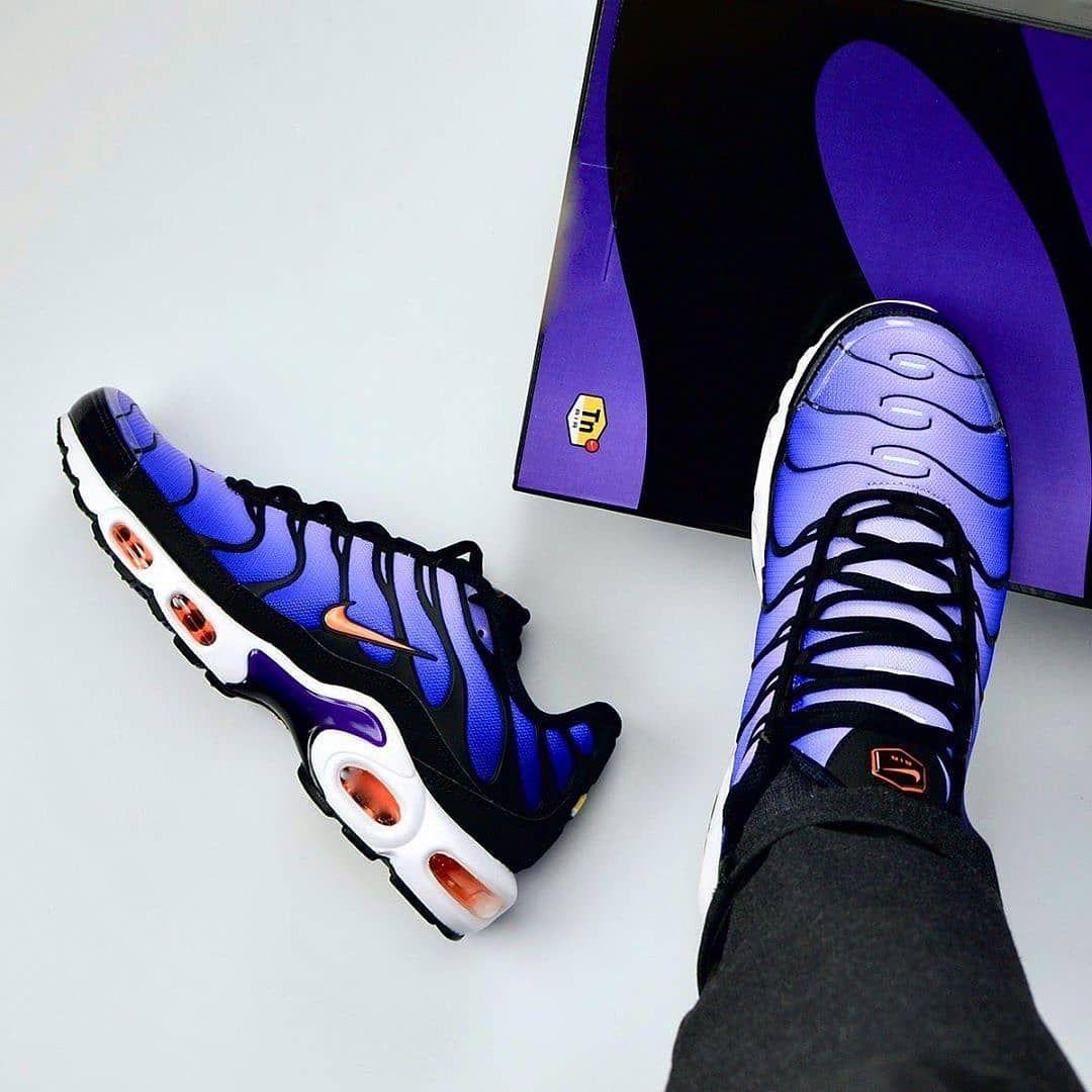 Nike Air Max TN x Ultra Hyper Blue   Scarpe nike, Scarpe