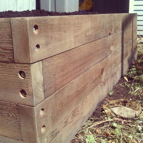 Half-Stack Planter Box