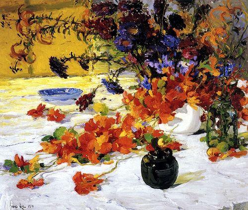 Lie, Jonas (1880-1940) - 1911 The Black Teapot (Everson Museum of Art, USA)