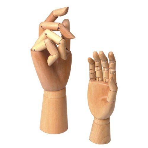 Pin By Sarah Anning On Art Figure Drawing Models Wooden Hand Art