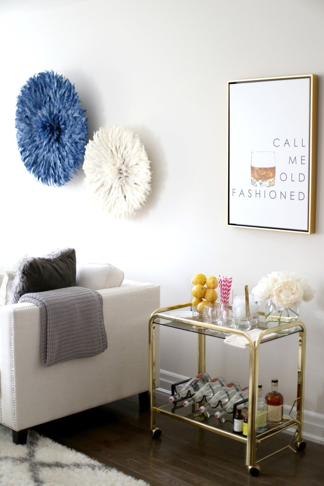 Bar Cart Styling with Pier 1 Imports ~ Suburban Faux-Pas