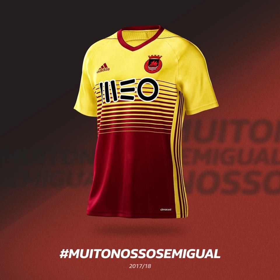 9e135e3e6f Conheça as novas camisas do Rio Ave FC 2017-2018