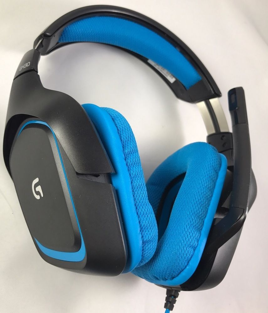 Logitech G430 Over-the-Ear Stereo Gaming USB Wired Headset (981 ...