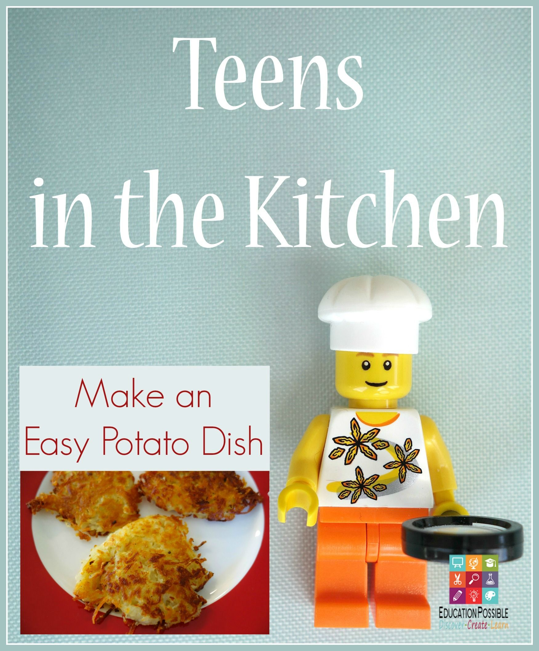 Teens In The Kitchen Make An Easy Potato Dish