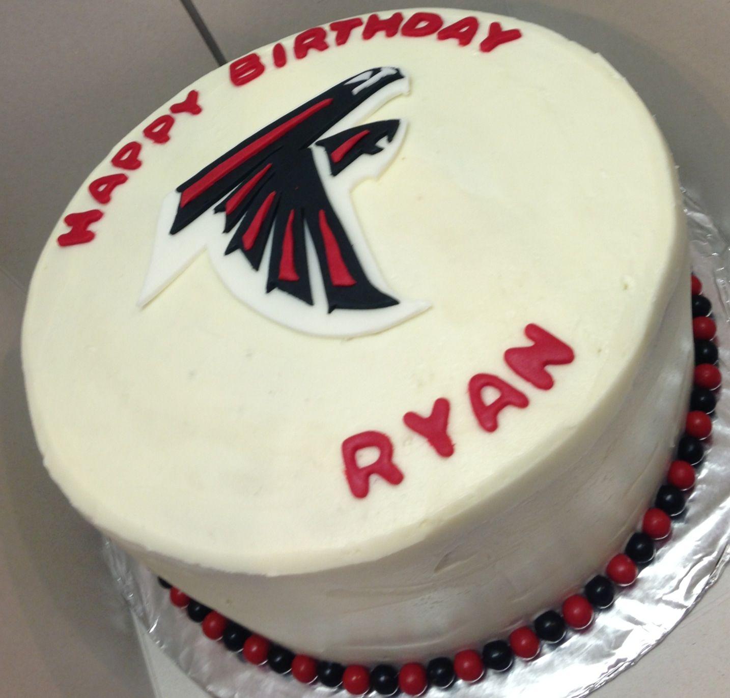 Atlanta Falcons Cake Cake Business Atlanta Falcons Cake Cupcake Cakes