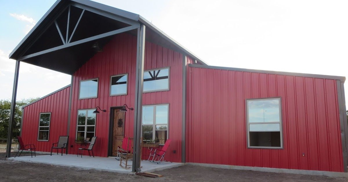 The Barndominium Is Finished This Home Had Tons Of Special