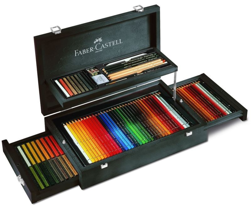 Art Amp Graphic Collection Wood Case Exclusive Set Faber Castell 110086 Faber Castell Art Faber Castell Art Collection