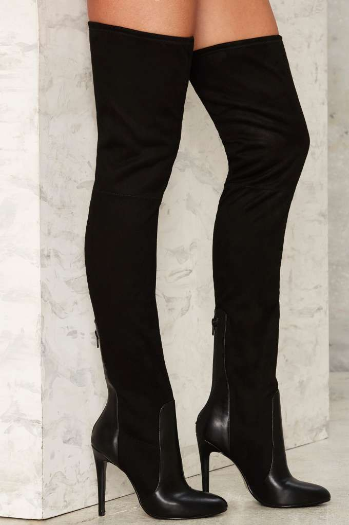 034312ed7e6 Nasty Gal High Jinks Over-the-Knee Boot