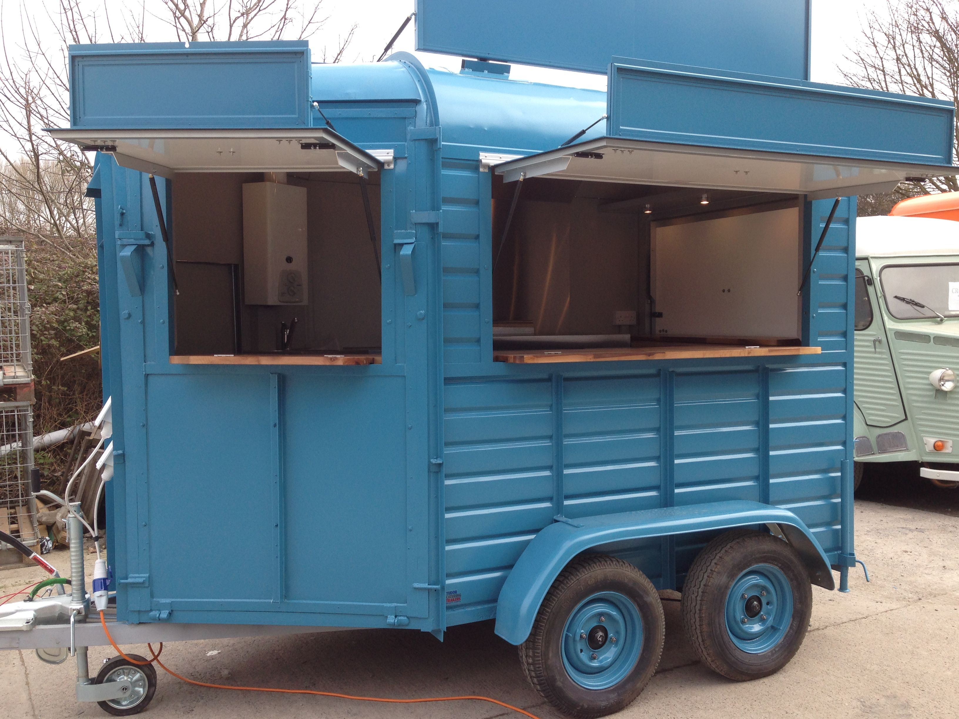 Horse Box Trailer | Coffee Dominates | Pinterest | Food truck, Oven ...