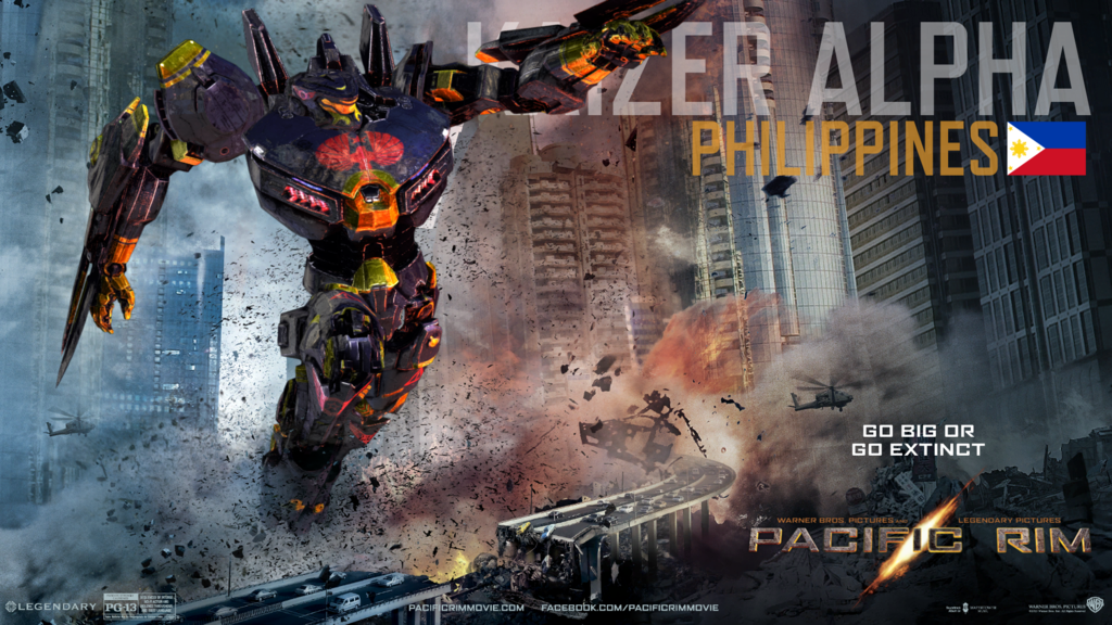 u2022Pacific Rim Jaeger - Kaizer Alpha (Philippines) by Paddy-One : alpha canopy philippines - memphite.com