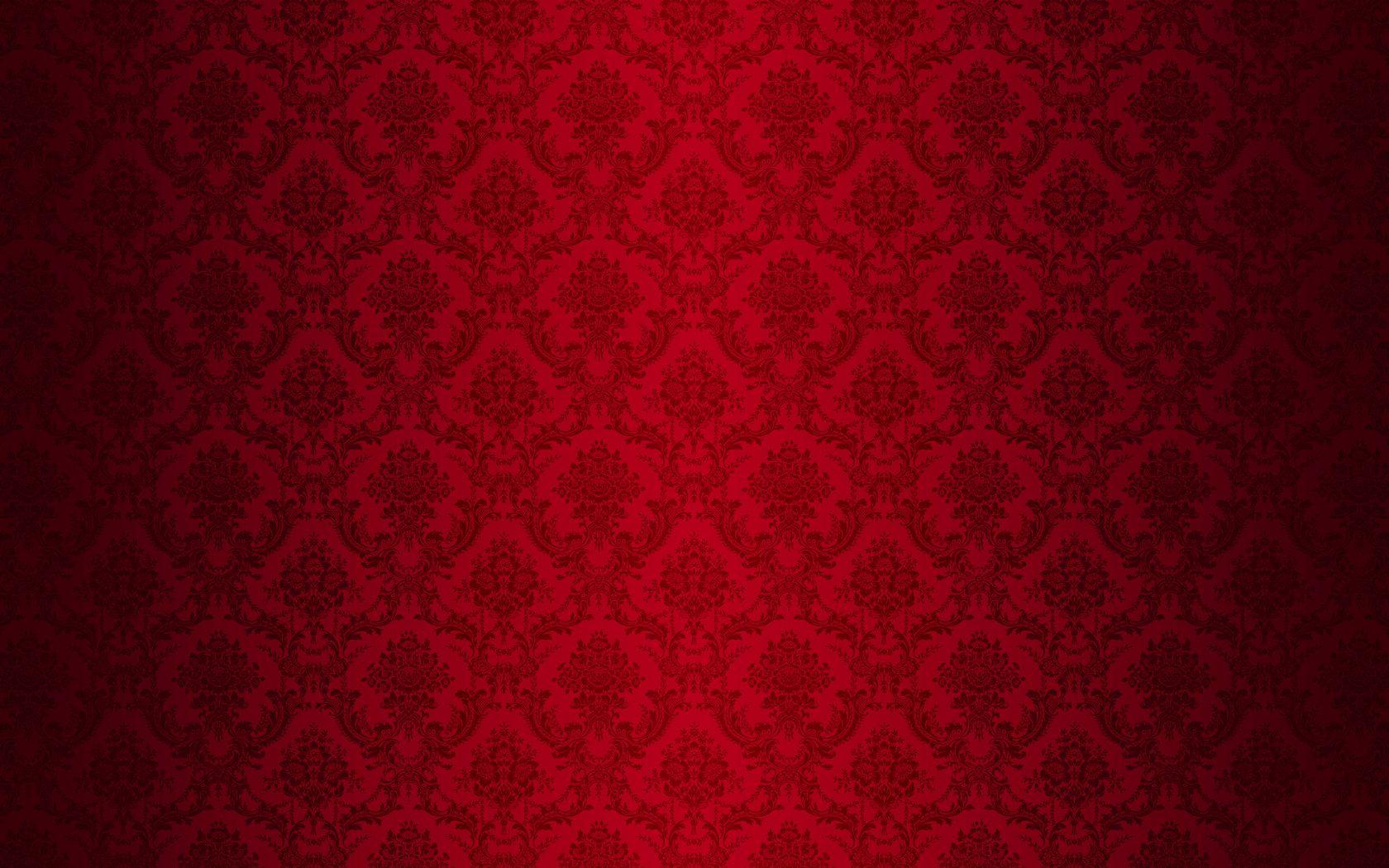 Red And Black Damask Wallpaper Damask Wallpaper Red Damask Red And Black Background