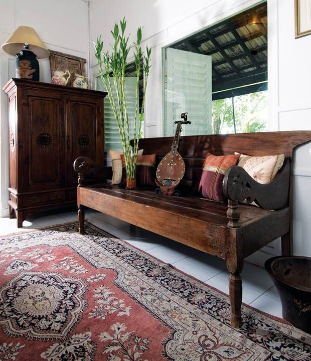 Colonial Interior Design Singapore: Tour This Charming Black And White House On Hyderabad Road