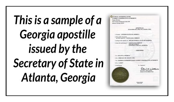 This is a sample of a Georgia apostille issued by the Secretary of - copy apostille birth certificate massachusetts