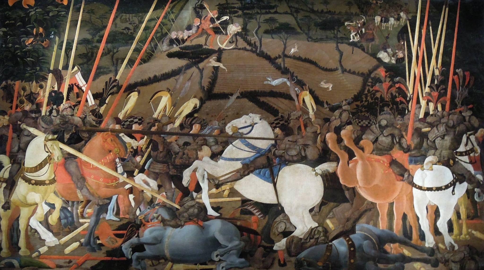 la Battaglia di Campaldino di Paolo Uccello.jpg (2048×1144)