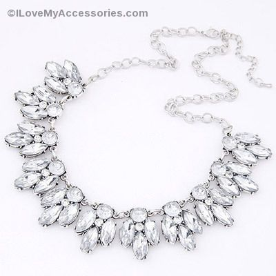Silver Waterdrop Necklace only $20 at www.ilovemyaccessories.com  Use Code: PINTEREST10 for 10% off your first purchase of $25