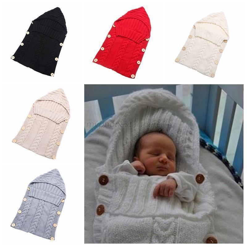 11 02 Newborn Infant Baby Blanket Swaddle Boys Girls Sleeping Bag