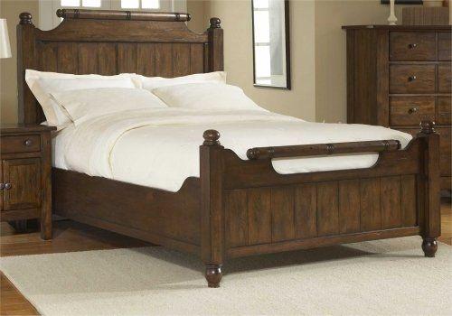Love The Rustic Detail Broyhill Furniture Oak Bedroom Furniture