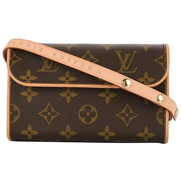 a6ef11c74056 Louis Vuitton Monogram Men s Women s Fanny Pack Waist Belt Bag ( 380) ❤  liked on Polyvore featuring men s fashion