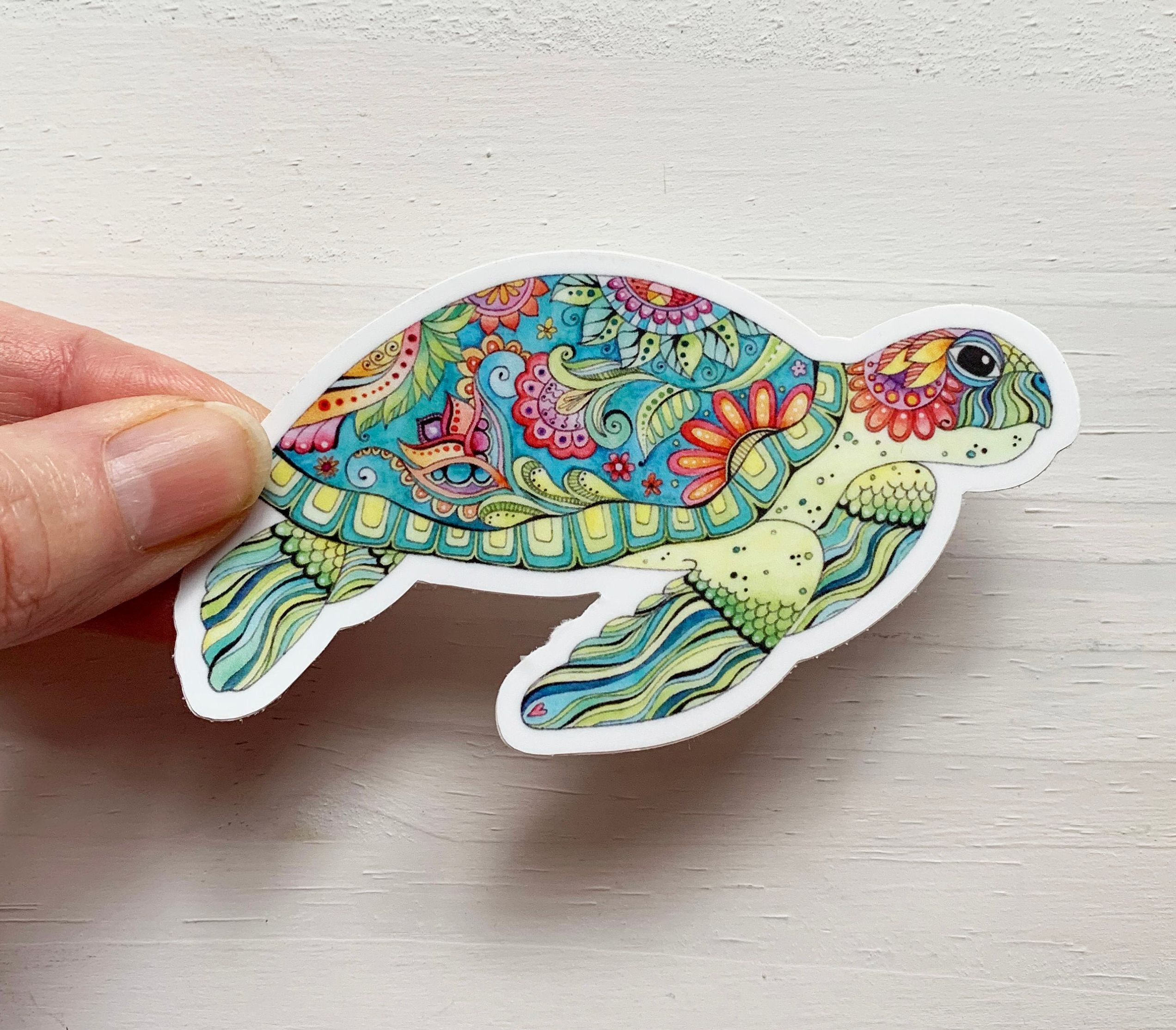 Pin By Christina Bustamante On Artisan Jewellery And Gifts Sea Turtle Decal Sea Turtle Painting Turtle Watercolor [ 2228 x 2544 Pixel ]