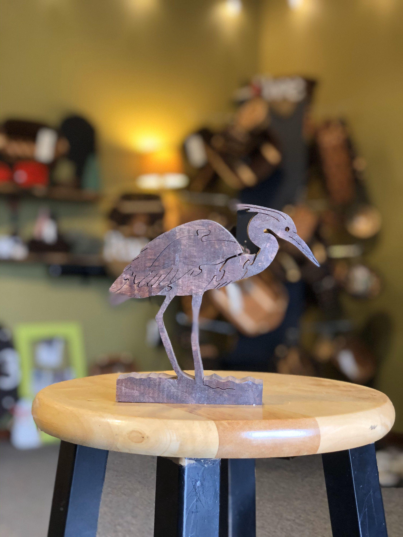 Great Blue Heron bird puzzle in 2020 Bird watcher gifts