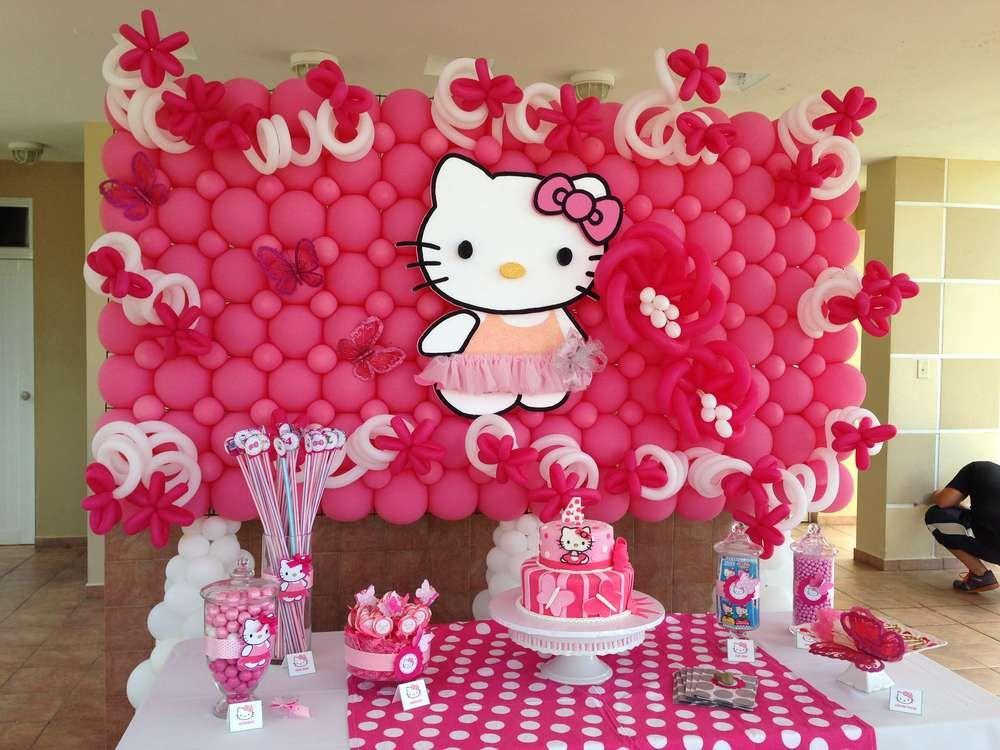 Hello Kitty Birthday Party Ideas With Images Hello Kitty Theme